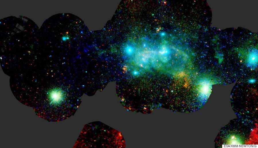 우리 은하의 중심은 이렇게