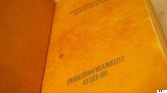 빈곤지역 사람들을 위한 '책'으로 만든 정수