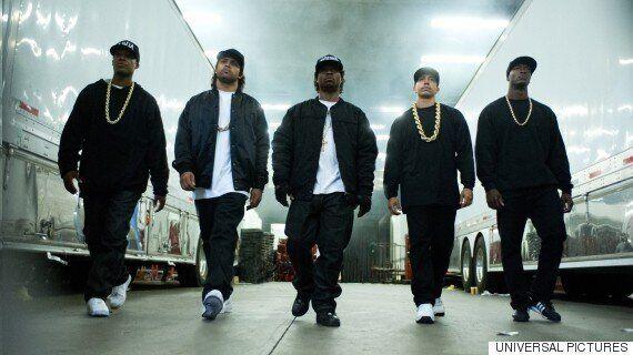 힙합 영화 'Straight Outta Compton'이 미국 박스오피스를 완전히