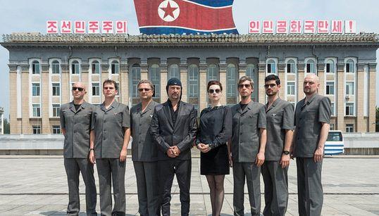 북한서 서방 록밴드의 첫 공연이