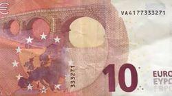 ¡Corre! Si este billete está en tu bolsillo no tienes 10 euros, tienes
