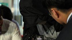 '워터파크 몰카' 지시한 남자, 카메라 앞에