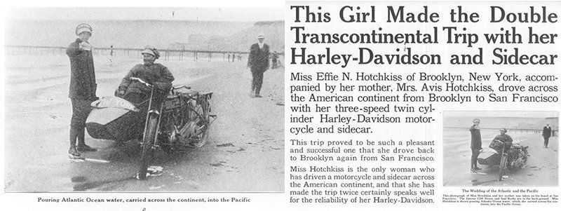 모터사이클을 타는 여성들이 많아져야 하는