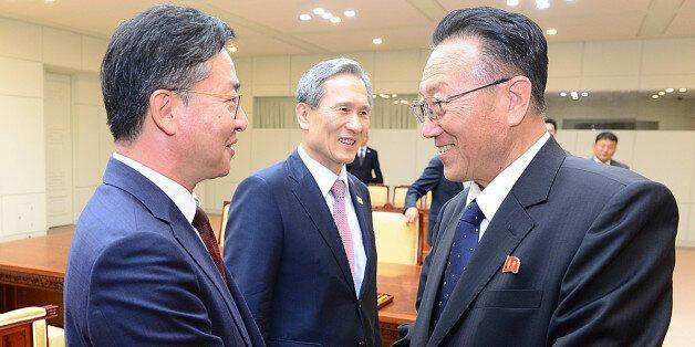 북한은 회담의 판을 깨지 않고 강한 협상 타결 의지를
