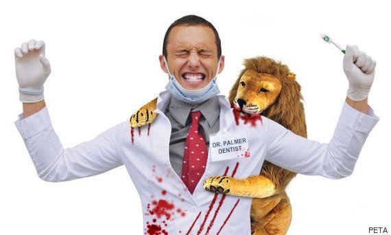 PETA가 치과의사 죽이는 사자 세실 커스튬을