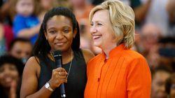 흑인운동가들을 만난 힐러리의 '충고'
