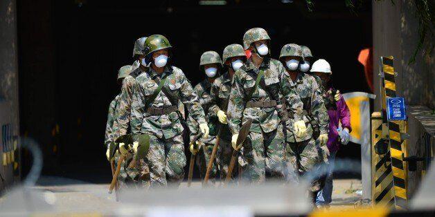정부, 중국 톈진항 폭발사고