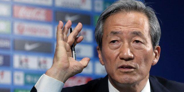정몽준, FIFA 회장 출마
