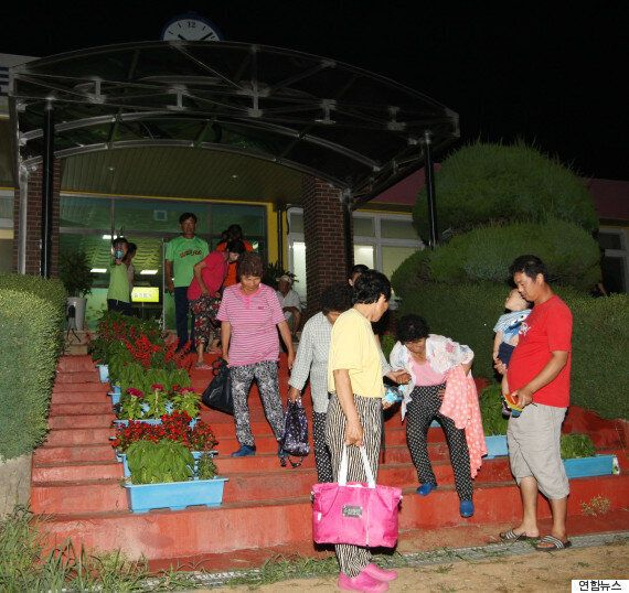 대피했던 파주·강화·김포 주민