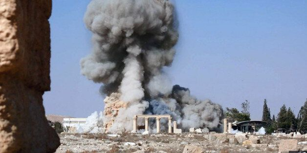 IS, 2천년된 시리아 팔미라 고대 신전 또