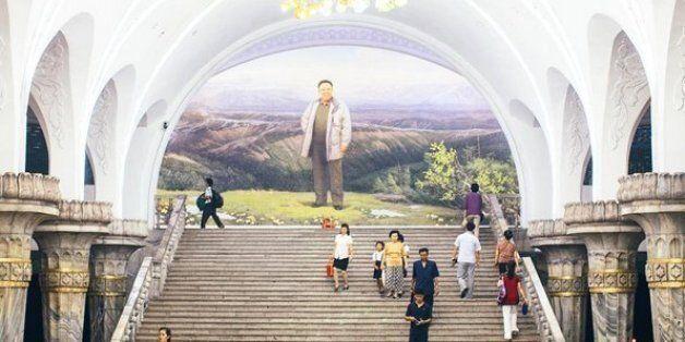 미국인 관광객이 북한을 여행하고 인스타그램에 사진을 올렸다. 매우, 인스타그램적인