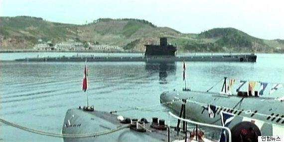 북한군 잠수함 70% 가동 중 : 물 위에서는 협상, 물밑에서는