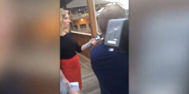 용의자가 총격할 당시 직접 찍어 페이스북에 올린 영상
