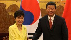 박 대통령, 중국 열병식도