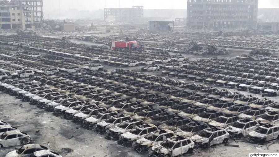 '중국 톈진항 폭발', 풀리지 않는 의혹