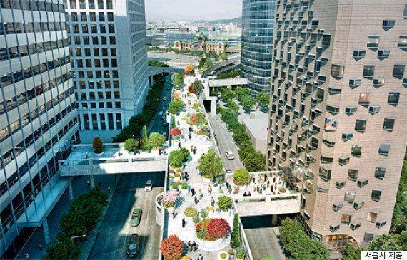 서울역 주변 5개 빌딩이 고가와
