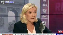 Le Pen veut un référendum sur l'immigration et donne des idées de
