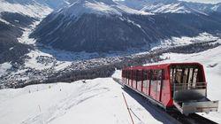 알프스에 '중국인 전용열차'가