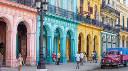 쿠바로 한국 관광객들이