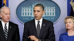 오바마, 바이든 공개지지