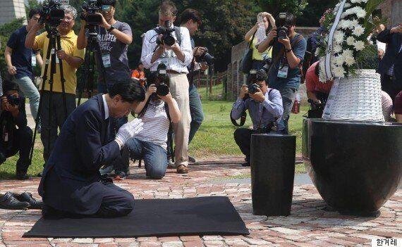 유관순 감방에 헌화한 일본 전