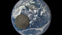 원색으로 촬영된 달의 뒷면!