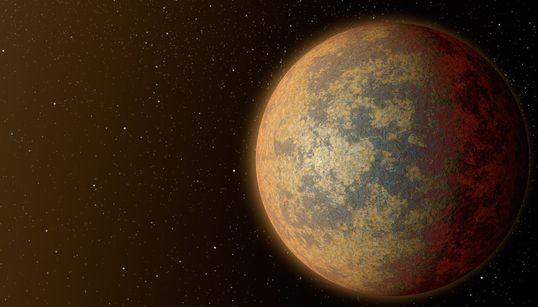 지구에서 가장 가까운 외계 바위 행성을