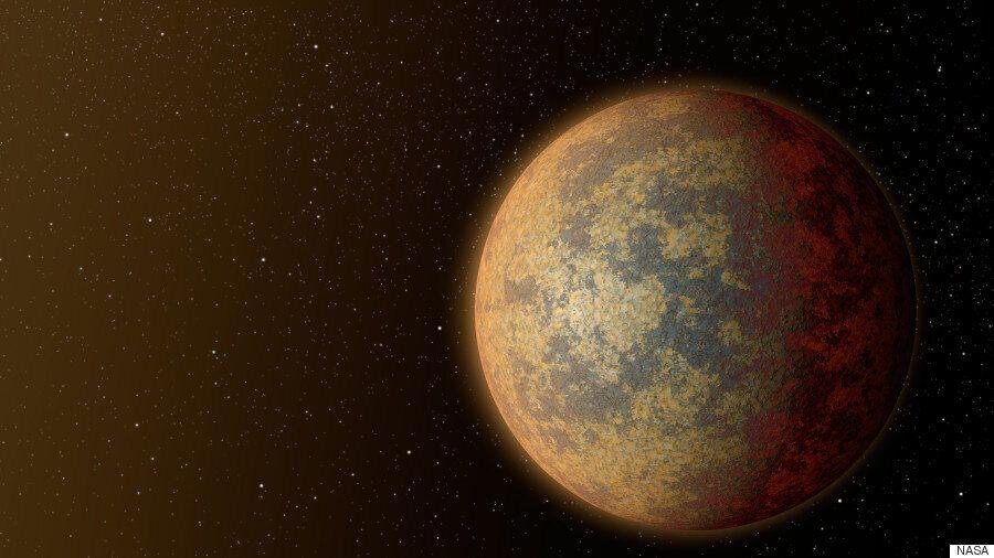 지구에서 가장 가까운 외계 바위 행성이