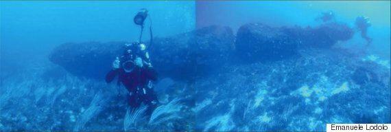 시칠리아 해저에서 발견된 1만년 된 거석의