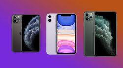 Les prix de l'iPhone 11, 11 Pro et 11 Pro Max avec forfait 4G chez les différents