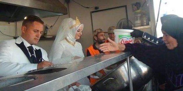 4천여명의 시리아 난민과 함께한 터키 신혼부부의 특별한