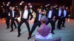 프로 댄서 신랑이 추는 결혼식