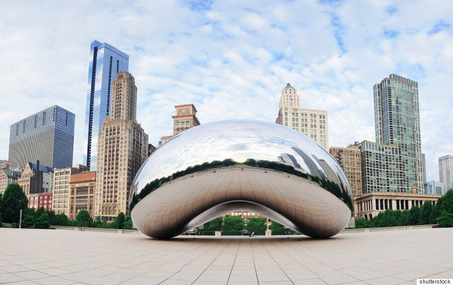 중국에 시카고 '클라우드 게이트' 닮은 조형물 등장해 '짝퉁'