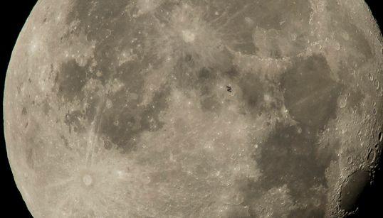 숨이 막히는 국제우주정거장 사진을