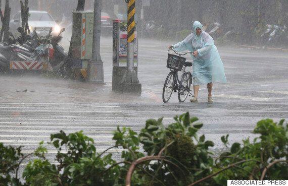 태풍 피해 대만서 17명 사망·실종...中동부 상륙