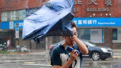 태풍 '사우델로르' 대만 이어, 중국