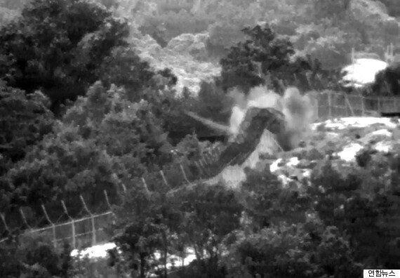 [속보] 우리군 2명 북 설치 목함지뢰에