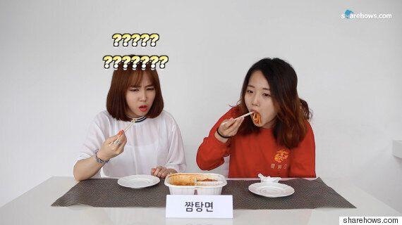 군대음식을 먹어본 민간인들의