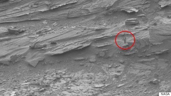 이것이 NASA가 촬영한 '화성의 여인'의