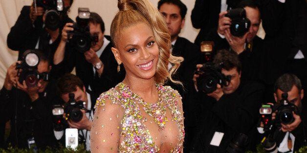 Beyonce arrives at The Metropolitan Museum of Art's Costume Institute benefit gala