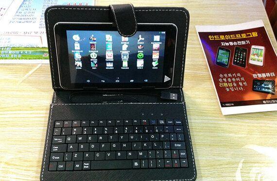북한의 새로운 기술   하이브리드 태블릿과