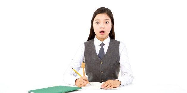 성추행 교사, 수업 중