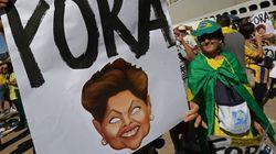 브라질 시위대,