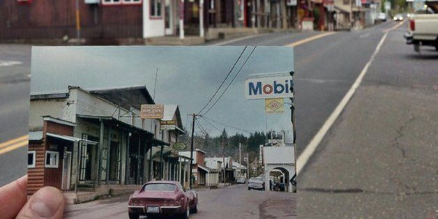 할아버지의 30년 전 사진을 따라 시간 여행을 떠난