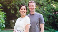 페이스북 저커버그 부부, 딸 임신