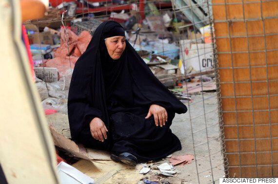 이라크 동부 IS 차량자살폭탄테러로 40여명