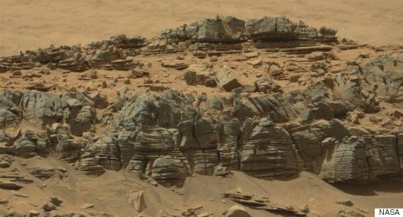 화성에서 찍힌 이 괴물의 정체는