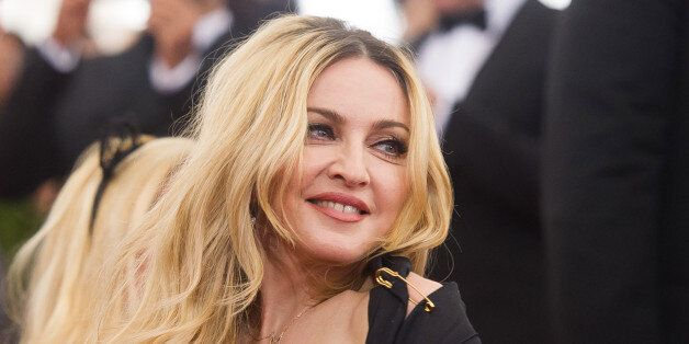 Madonna arrives at The Metropolitan Museum of Art's Costume Institute benefit gala