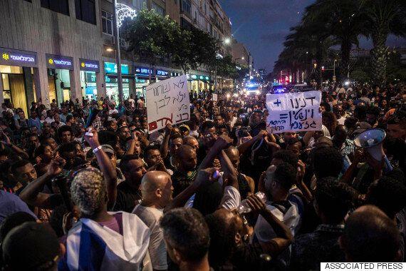 이스라엘 곳곳에서 극우 유대인들의 범죄 규탄하는 시위