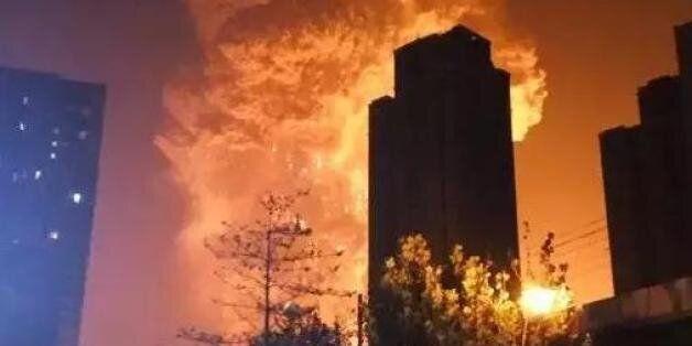 톈진 폭발 맹독성물질 유출 가능성, 사망자 최소